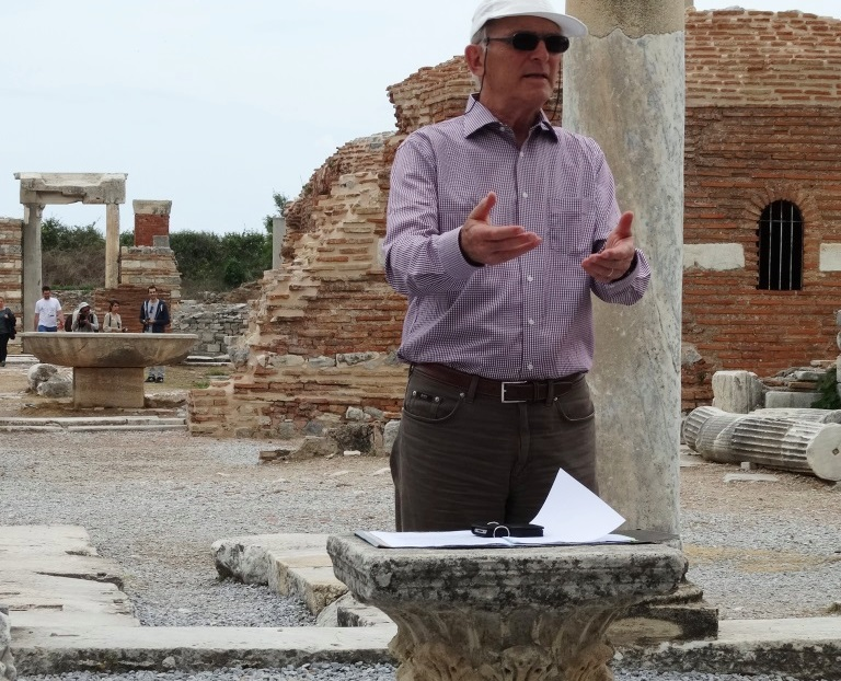 Tagblatt Anatolien April 2014_Erwin Koller in Ephesos