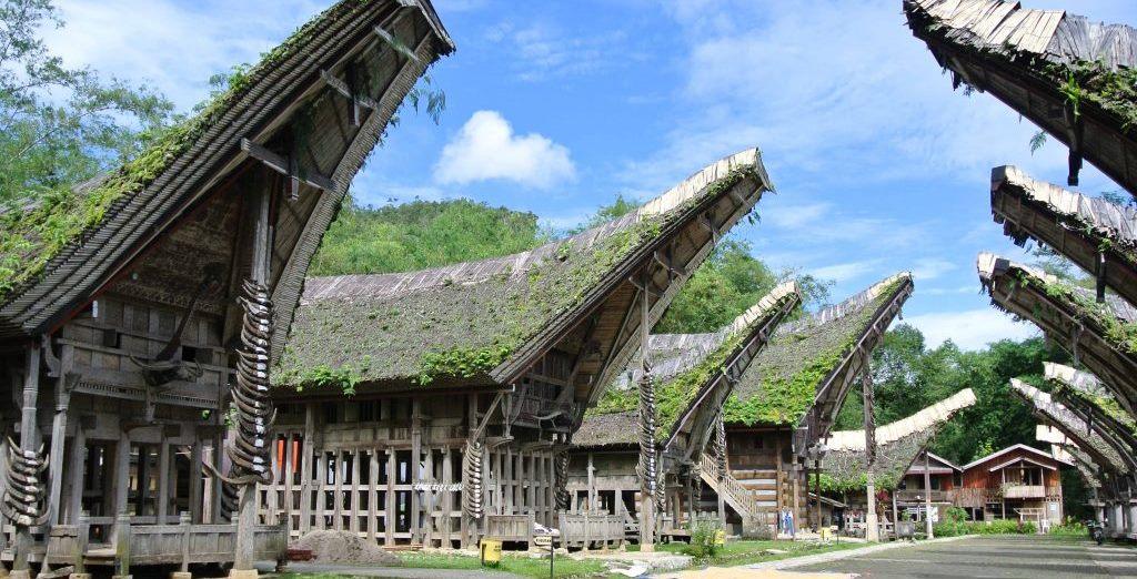 Tagblatt-Leserreise Indonesien 2014_Toraya Häuser