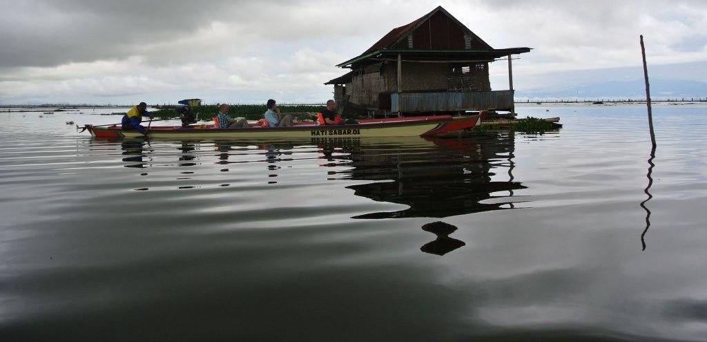Tagblatt-Leserreise Indonesien 2014_schwimmende Dörfer
