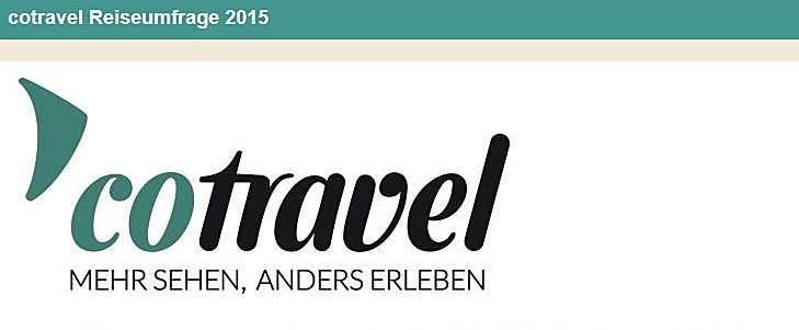 cotravel Umfrage Reisen 2015_Ergebnisse