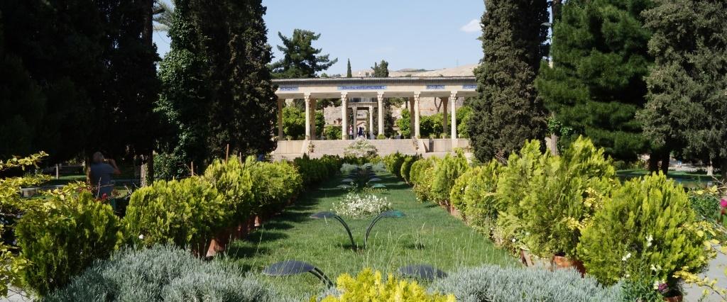 cotravel Reise Iran_Blog Michael Wrase_Hafes Mausoleum Shiraz