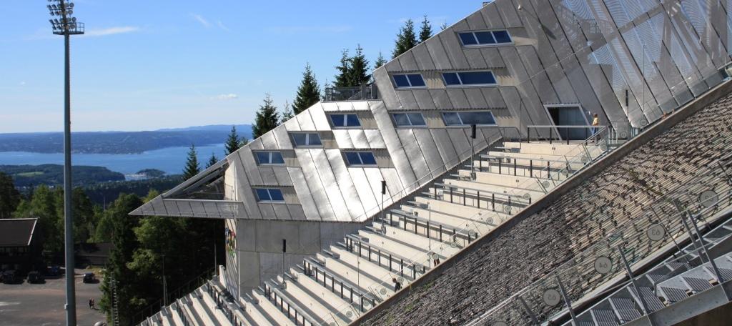 cotravel Reise Hurtigruten Spitzbergen_Felix Blumer_Oslo Sprungschanze Holmenkollen