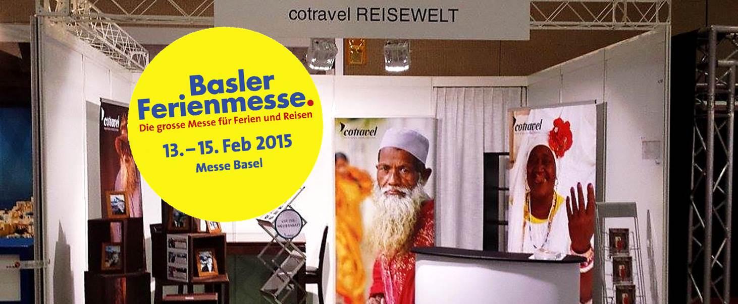 Basler Ferienmesse cotravel Einladung