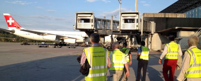 cotravel BERICHT_Führung durch den Flughafen Zürich