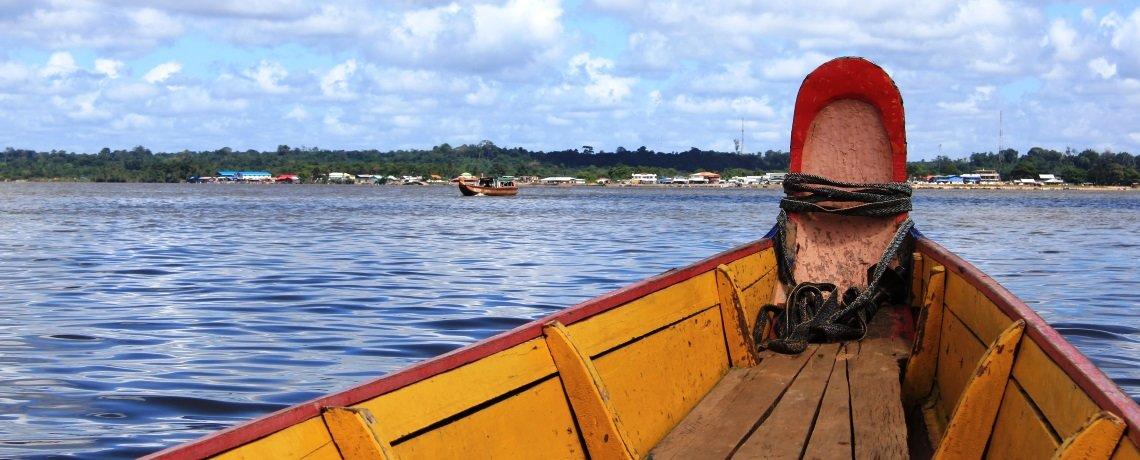 Studienreise-Franz.-Guayana-Suriname-Pirogue