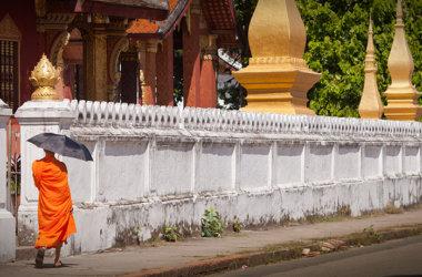 Studienreise-Laos-Kambodscha-Mönch