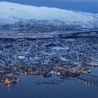 Studienreise_Hurtigruten_Tromso-von-oben