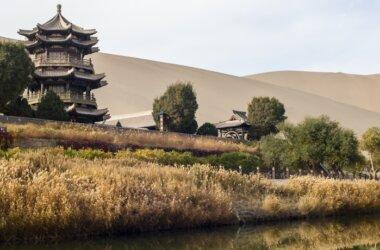 Studienreise-Mondsichel See-Dunhuang-China